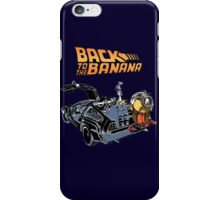 Back To The Banana iPhone Case/Skin