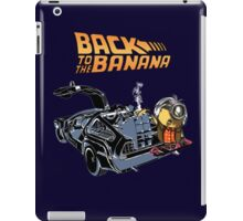 Back To The Banana iPad Case/Skin