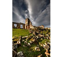 Rubble of Misery Photographic Print