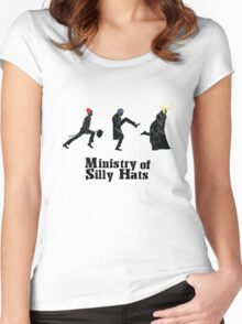 Ministry of Silly Hats Women's Fitted Scoop T-Shirt