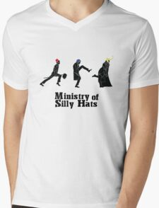 Ministry of Silly Hats Mens V-Neck T-Shirt