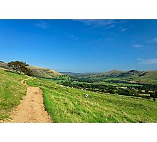 The Vale of Edale from the Pennine Way Photographic Print