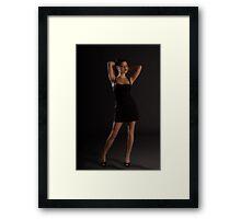 Modelling Shot of Kristina Framed Print