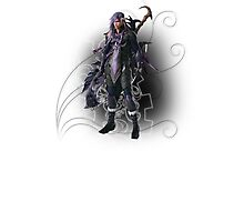 Final Fantasy XIII-2 - Caius Ballad Photographic Print