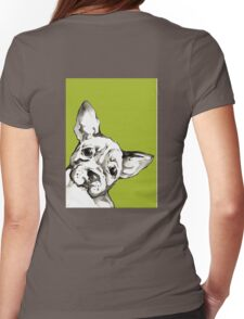 Dog 2 Womens Fitted T-Shirt