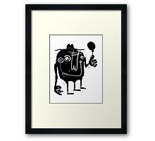 Balloon Happiness Framed Print