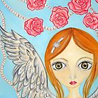 Angel with the Rose Pearls by Jaz Higgins