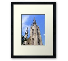 Basilica of the Sacred Heart ~ Notre Dame, Indiana- USA Framed Print