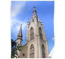 Basilica of the Sacred Heart ~ Notre Dame, Indiana- USA Poster