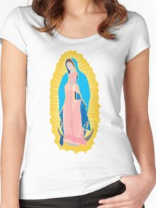 Virgin of Guadalupe Women's Fitted Scoop T-Shirt