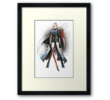 Final Fantasy Lightning Returns - Lightning (Claire Farron) Framed Print