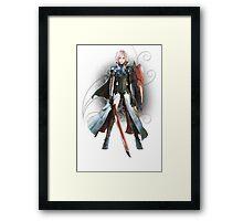 Final Fantasy Lightning Returns - Lightning (Claire Farron) Framed Print
