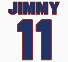 National baseball player Jimmy Bloodworth jersey 11 by imsport