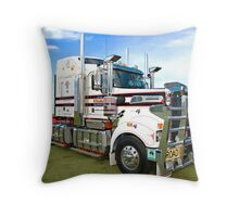 The Mighty Kenworth T904. Throw Pillow