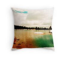 Duck Creek 3 hours earlier Throw Pillow