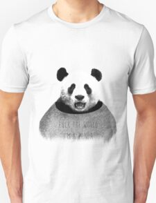 F*ck the world, I'm a Panda. T-Shirt