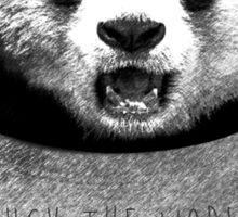 F*ck the world, I'm a Panda. Sticker