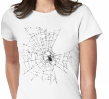 Spiderweb Womens Fitted T-Shirt