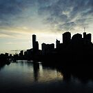 Melbourne Sky by MichaelA