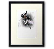 Final Fantasy XIII-2 - Lightning (Claire Farron) Framed Print