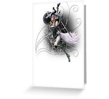 Final Fantasy XIII-2 - Lightning (Claire Farron) Greeting Card