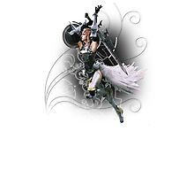 Final Fantasy XIII-2 - Lightning (Claire Farron) Photographic Print