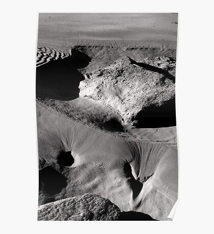 Beach Contours Poster