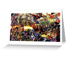 the hero are back Greeting Card