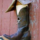 Cowboy Boot Birdhouse by madman4