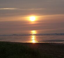 Sunrise in Old Orchard Beach Maine by kgsjudkins