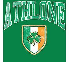 Athlone, Ireland with Shamrock Photographic Print