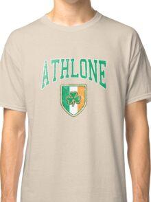 Athlone, Ireland with Shamrock Classic T-Shirt