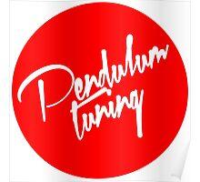 Pendulum Tuning Logo (Script) Poster
