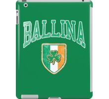 Ballina, Ireland with Shamrock iPad Case/Skin