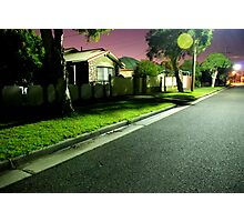 Night Scene 2 Photographic Print