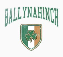 Ballynahinch, Ireland with Shamrock by Greenbaby