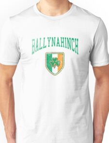 Ballynahinch, Ireland with Shamrock Unisex T-Shirt