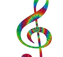 Tie-Dye Treble by athee-fille