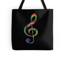 Tie-Dye Treble Tote Bag