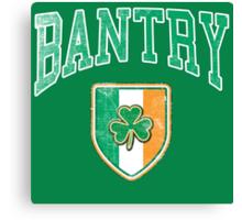 Bantry, Ireland with Shamrock Canvas Print