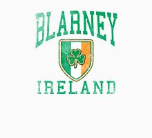 Blarney, Ireland with Shamrock Men's Baseball ¾ T-Shirt