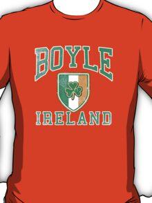 Boyle, Ireland with Shamrock T-Shirt
