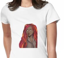 Lady Fire Womens Fitted T-Shirt