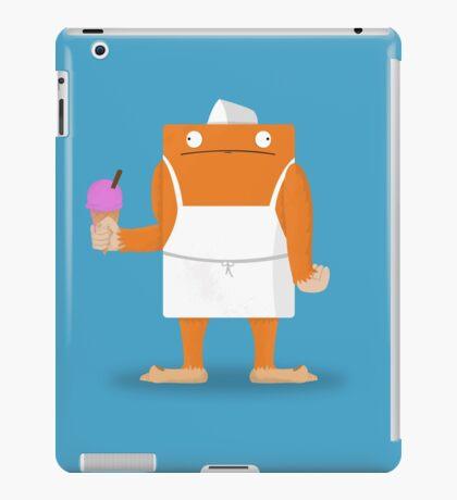 Ice Cream Vendor - Everyday Monsters iPad Case/Skin
