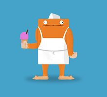 Ice Cream Vendor - Everyday Monsters by FraserLinton