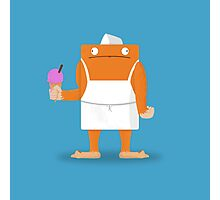Ice Cream Vendor - Everyday Monsters Photographic Print