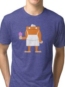 Ice Cream Vendor - Everyday Monsters Tri-blend T-Shirt