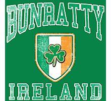Bunratty, Ireland with Shamrock Photographic Print