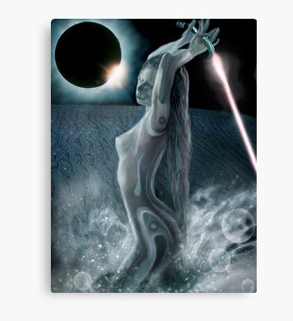 Moon Dust Canvas Print