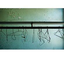coat hangers Photographic Print